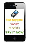 SMS Short Code - 56161 - 56767